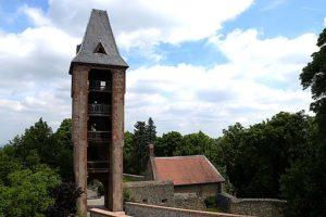 怪物フランケンシュタインゆかりのフランケンシュタイン城(オーデンヴァルト)(Burg Frankenstein)