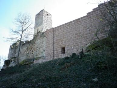 環状城壁(Ringmauer)