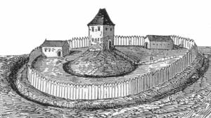 ドイツの古城(ブルク)の変遷