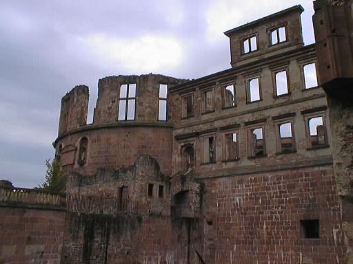 ハイデルベルク城廃墟