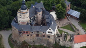 ファルケンシュタイン城(Burg Falkenstein)(ハルツ)(Harz)